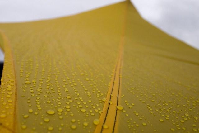 How waterproof is your tent? Understanding Hydrostatic Head Measurements