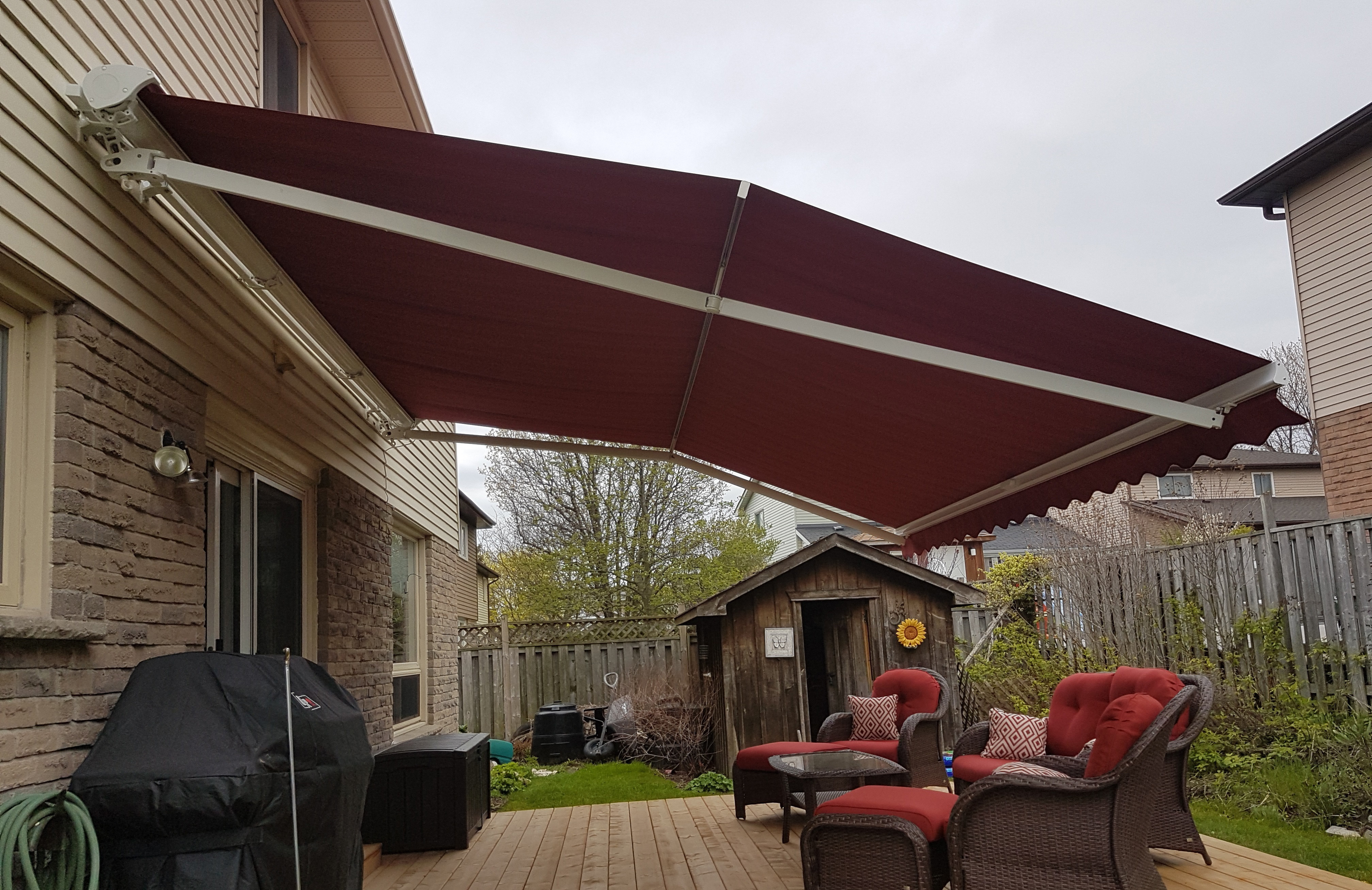 Caring for Retractable Awnings During Winter