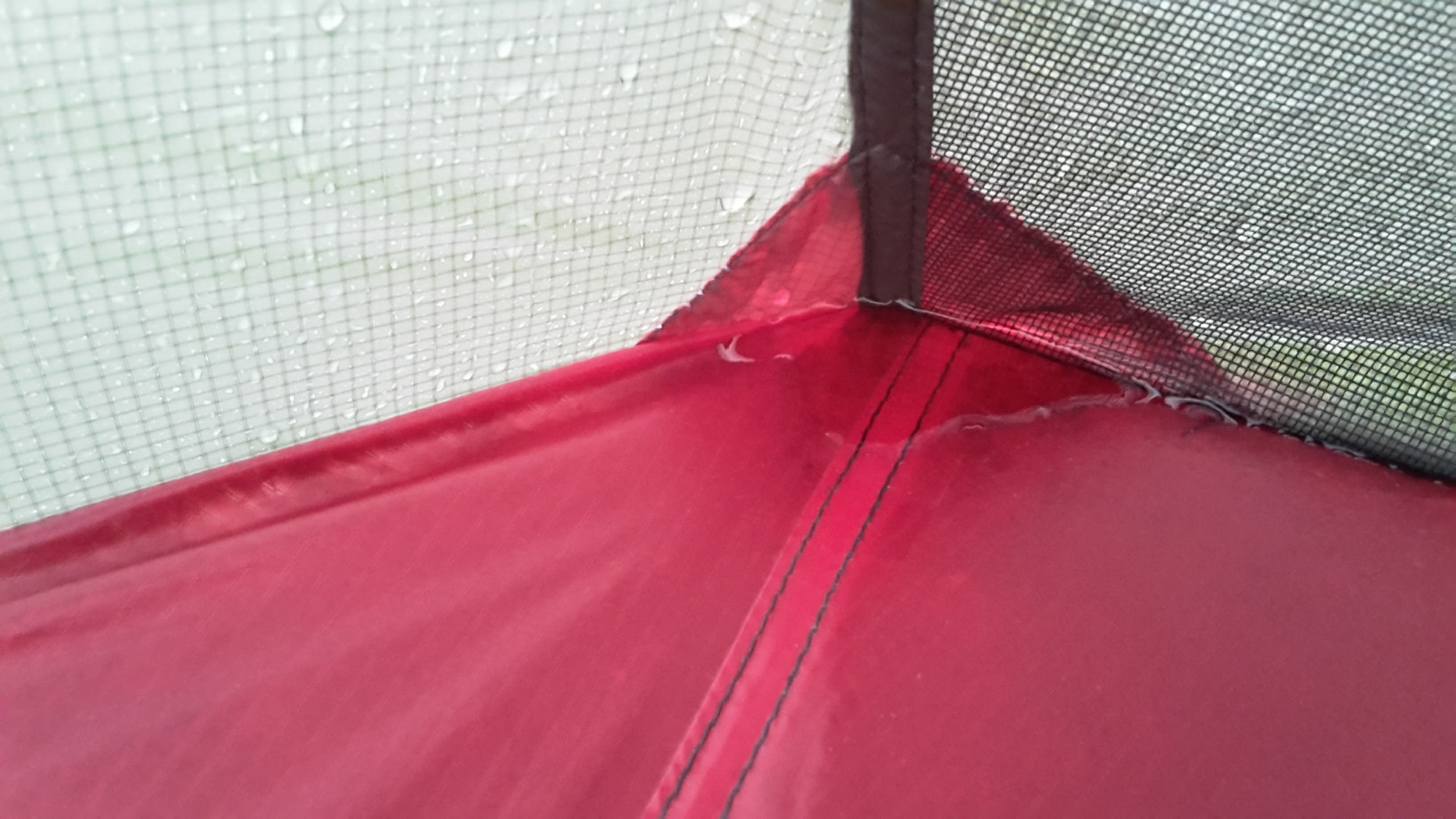 Is it a leaking tent or condensation?